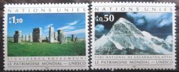 Poštovní známky OSN Ženeva 1992 Dìdictví UNESCO Mi# 210-11