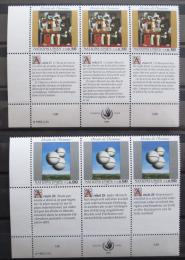 Poštovní známky OSN Ženeva 1993 Lidská práva Mi# 233-34