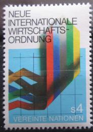 Poštovní známka OSN Vídeò 1980 Hospodáøství Mi# 7