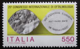 Poštovní známka Itálie 1986 Kongres oèních lékaøù Mi# 1972