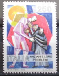 Poštovní známka Itálie 1985 Problémy dnešní doby Mi# 1906