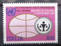 Poštovní známka Itálie 1985 Kongres OSN Mi# 1938