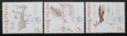 Poštovní známky Kypr 1991 Komise pro uprchlíky Mi# 777-79