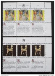 Poštovní známky OSN Vídeò 1991 Lidská práva Mi# 123-24