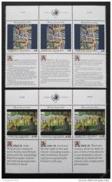 Poštovní známky OSN Vídeò 1992 Lidská práva Mi# 139-40