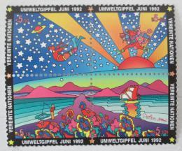 Poštovní známky OSN Vídeò 1992 Sumit Zemì Mi# 129-32