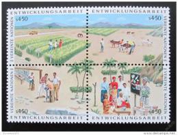Poštovní známky OSN Vídeò 1986 Program rozvoje Mi# 56-59