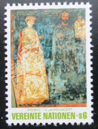Poštovní známka OSN Vídeò 1981 Umìní Mi# 19