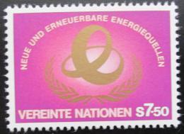 Poštovní známka OSN Vídeò 1981 Zdroje energie Mi# 20