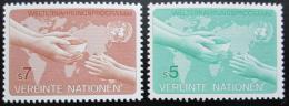 Poštovní známky OSN Vídeò 1983 Svìtový potravinový program Mi# 32-33