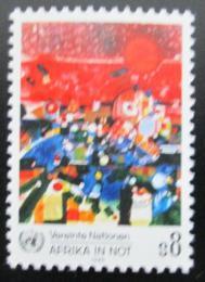 Poštovní známka OSN Vídeò 1986 Afrika v krizi Mi# 55