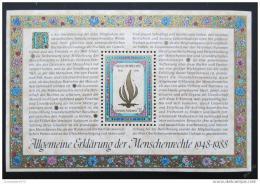 Poštovní známka OSN Vídeò 1988 Lidská práva Mi# Block 4