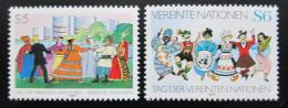 Poštovní známky OSN Vídeò 1987 Den OSN Mi# 75-76