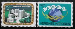 Poštovní známky OSN Vídeò 1987 Donaupark a mír Mi# 73-74