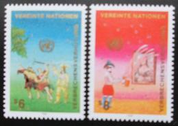 Poštovní známky OSN Vídeò 1990 Prevence zloèinu Mi# 106-07