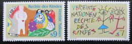 Poštovní známky OSN Vídeò 1991 Práva dìtí Mi# 117-18