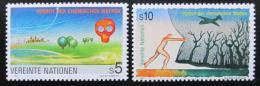 Poštovní známky OSN Vídeò 1991 Zákaz chemických zbraní Mi# 119-20