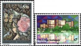 Poštovní známky OSN Vídeò 1992 Mezinárodní centrum Mi# 137-38