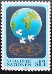 Poštovní známka OSN Vídeò 1993 Holubice míru Mi# 149