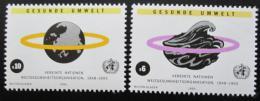 Poštovní známky OSN Vídeò 1993 WHO, 45. výroèí Mi# 147-48