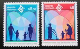 Poštovní známky OSN Vídeò 1994 Mezinárodní rok rodiny Mi# 160-61