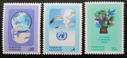Poštovní známky OSN Vídeò 1994 Symboly Mi# 167-69