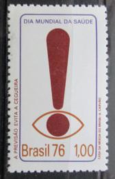 Poštovní známka Brazílie 1976 Svìtový den zdraví Mi# 1524