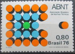 Poštovní známka Brazílie 1976 Státní normy Mi# 1577