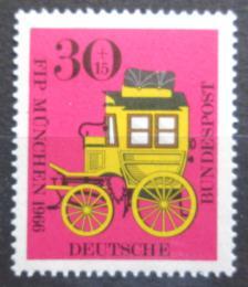 Poštovní známka Nìmecko 1966 Poštovní dostavník Mi# 516