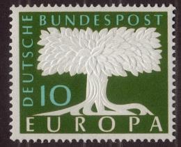 Poštovní známka Nìmecko 1957 Evropa CEPT Mi# 268