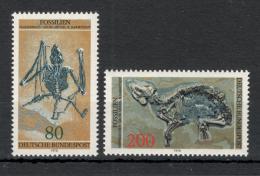 Poštovní známky Nìmecko 1978 Fosílie Mi# 974-75