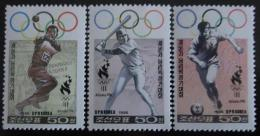 Poštovní známky KLDR 1996 LOH Atlanta Mi# 3856,3858-59