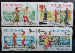 Poštovní známky Filipíny 1969 Týden filatelie Mi# 97-10