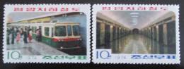 Poštovní známky KLDR 1974 Metro Mi# 1223-24