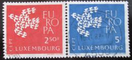 Poštovní známky Lucembursko 1961 Evropa CEPT Mi# 647-48