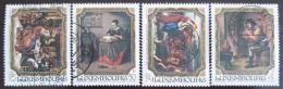 Poštovní známky Lucembursko 1984 Umìní Mi# 1100-03