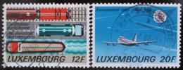 Poštovní známky Lucembursko 1988 CEMT,EUROCONTROL Mi# 1194-95