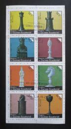 Poštovní známky Rovníková Guinea 1976 Šachové figurky