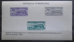 Poštovní známky Dominikánská republika 1958 Svìtová výstava Mi# Block 20