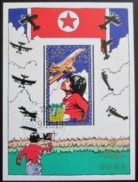 Poštovní známka KLDR 1979 Rok dìtí neperf. Mi# Block 64 B