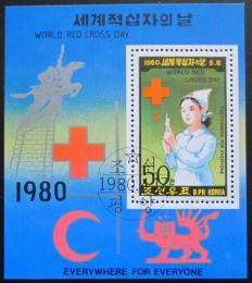 Poštovní známka KLDR 1980 Èervený køíž Mi# Block 71