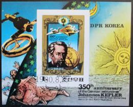 Poštovní známka KLDR 1980 Johannes Kepler Mi# Block 82