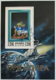 Poštovní známka KLDR 1982 Prùzkum vesmíru Mi# Block 120