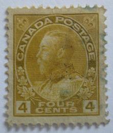Poštovní známka Kanada 1922 Král Jiøí V. Mi# 108