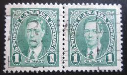 Poštovní známky Kanada 1937 Král Jiøí VI., pár Mi# 197 A