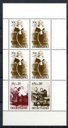 Poštovní známky Nizozemí 1974 Fotografie dìtí Mi# Block 13