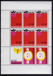 Poštovní známky Nizozemí 1971 Dìtské ilustrace Mi# Block 10 Kat 12€