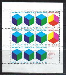 Poštovní známky Nizozemí 1970 Barevné kostky Mi# Block 9 Kat 18€