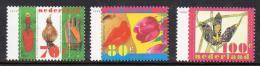 Poštovní známky Nizozemí 1996 Jarní kvìtiny Mi# 1566-68