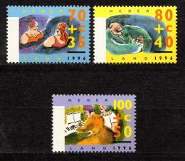 Poštovní známky Nizozemí 1996 Život seniorù Mi# 1571-73